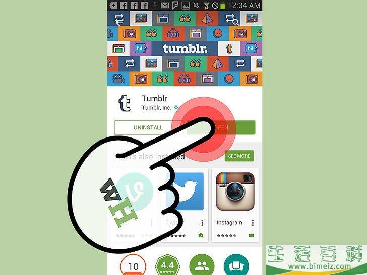 如何关注Tumblr上的用户