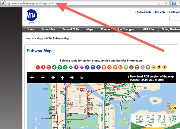 如何乘坐纽约市地铁