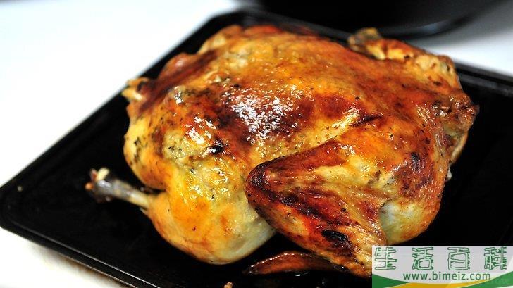 怎么在烤箱里烤一整只鸡