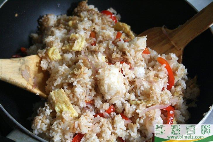 怎么做炒米饭