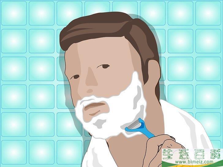 怎么留小胡子