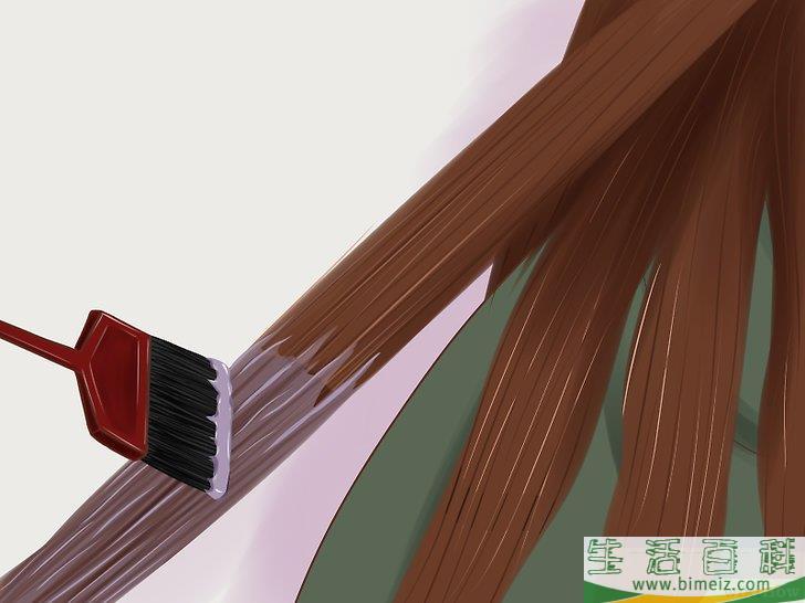 怎么浸染发尾