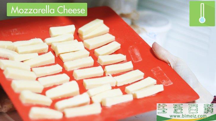 怎么制作马苏里拉奶酪棒
