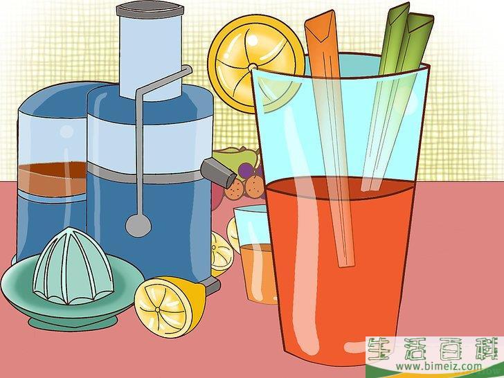 怎么用果蔬汁减肥