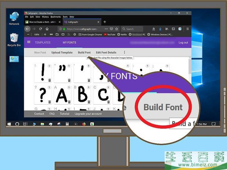 怎么创建字体