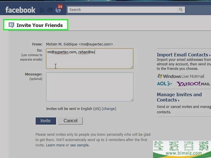 怎么在Facebook上找到你的朋友