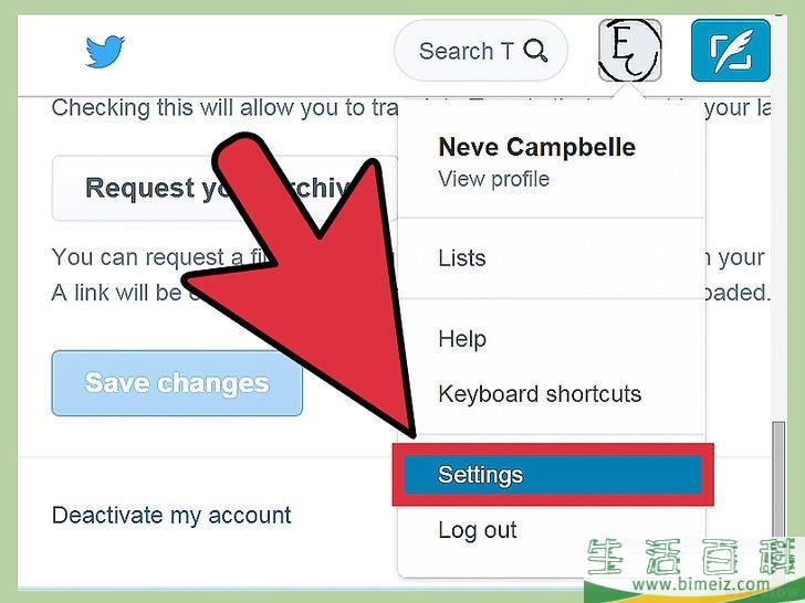 怎么删除Twitter账户