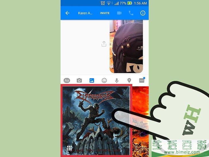 """怎么用""""Facebook Messenger""""程序发送照片和视频"""