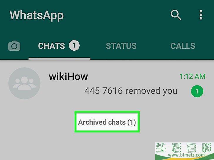 怎么在WhatsApp上查看存档聊天记录