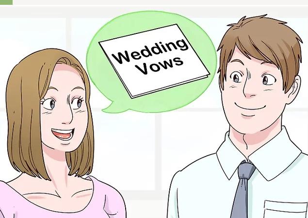 结婚时的誓言词